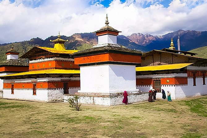 10 Nights Bhutan Tour explores around Paro, Thimphu, Punakha, and Bumthang and is a package of 11 days. The tour takes you to the spectacular Bumthang, the cultural heartland of Bhutan which houses some of the oldest temples and monasteries of Bhutan. The tour explores important cultural landmarks such as Punakha Dzong, Chimmi Lhakhang, Wangdue Phodrang Dzong, Jakar Dzong and many others in the cities of Paro, Thimphu, and Punakha. The tour also includes the refreshing hike to the Taktsang Monastery 'Tiger's Nest' perched in the vertical cliff and also visits two remarkable valleys Ura and Tang. Bhutan Cultural Tour provides full insight of the cultural, religious and historical aspects of Bhutan.