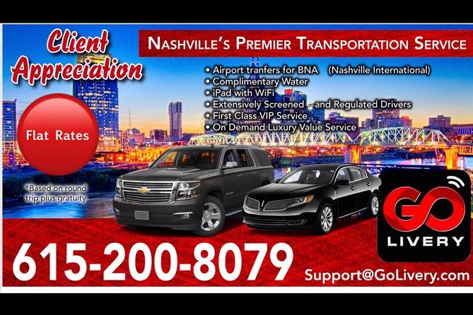 BNA SUV Hotel Transfer, Nashville, TE, ESTADOS UNIDOS