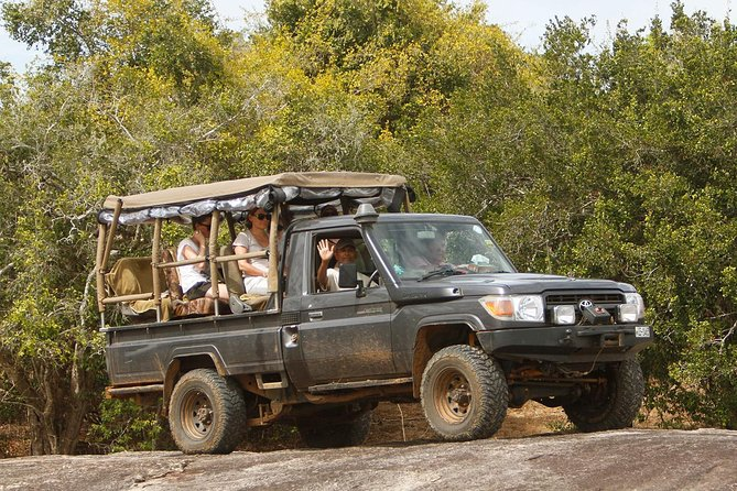 Private Day-Trip to Yala National Park Including BBQ Dinner on the Beach, ,