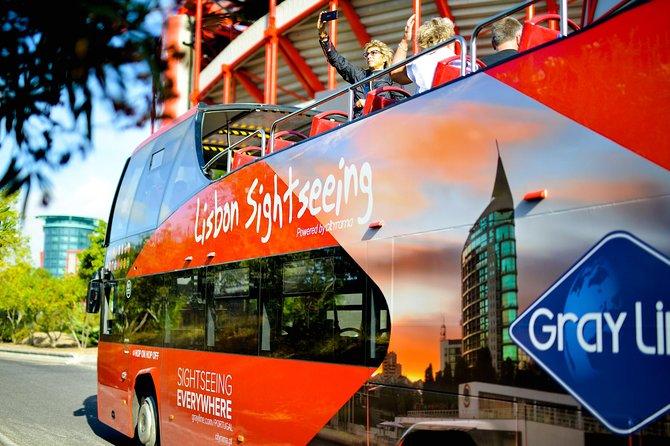 MÁS FOTOS, Recorrido en autobús con paradas libres por Lisboa con línea Cascais opcional