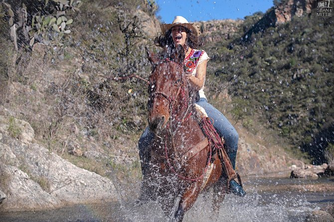 Aventura de medio día de equitación, San Miguel de Allende, MEXICO