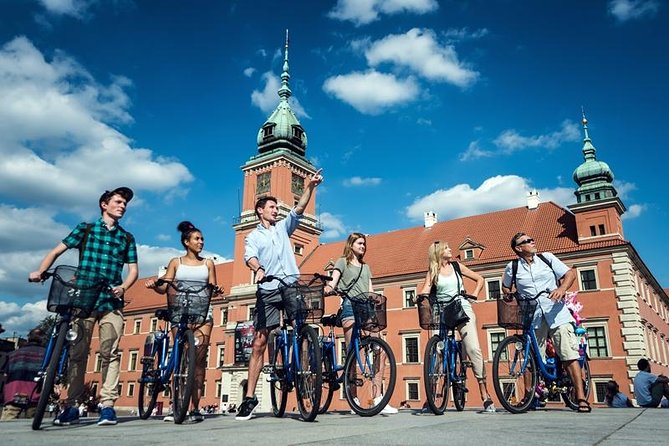 3 Hour Warsaw City Bike Tour, Varsovia, POLONIA