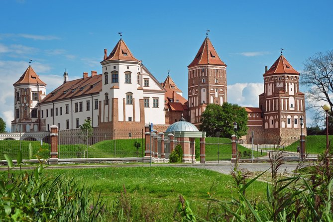 Its popular historical tour among travellers visiting Belarus.<br><br>Tour duration 4-6 hours.<br><br>During the tour you'll be able to visit 2 historical places.<br><br>Our english speaking driver will pick you from any address in Minsk, or from Minsk International airport, and will bring you to castles.<br><br>Territory of castles is free, you can walk around. If you prefer to go inside the castles you can buy tickets inside each casle (tickets are not included in tour, they can only be bought in castles, price is about 10$ per person). Also you'll be able to take audio guide in both castles.<br><br>During the tour you can ask driver to stop in local cafe or restaurant for lunch or dinner and try our local meals.<br><br>After the tour driver will bring you to hotel in Minsk.