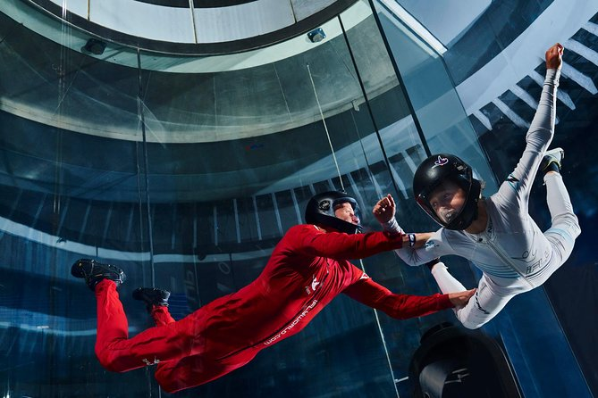 Feel the thrill of skydiving without jumping out of an airplane. It's true! Head to iFLY El Paso, a premier indoor skydiving facility powered by a state-of-the-art vertical wind tunnel. After a training session, you'll experience free-fall conditions with the help of an instructor. No experience is necessary, and afterward, you can take home a personalized flight certificate.