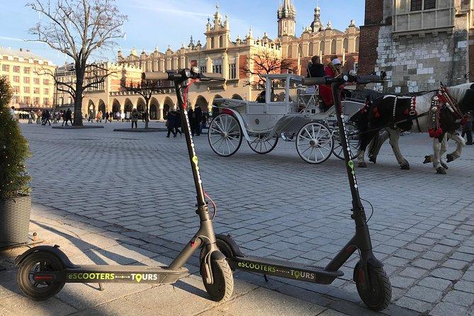 Electric Scooter Rental Krakow 3 Hours, Cracovia, POLÔNIA