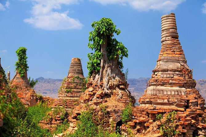 Sagar, Local Monastery and Village, 'Sunken' Stupas of Sagar, Village of Thaya Gone, Sae Khaung Pottery Village