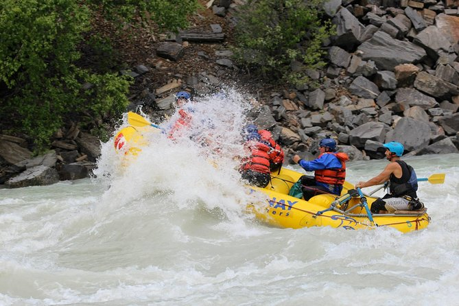 Extreme Whitewater Rafting on Kicking Horse River, Golden, CANADA