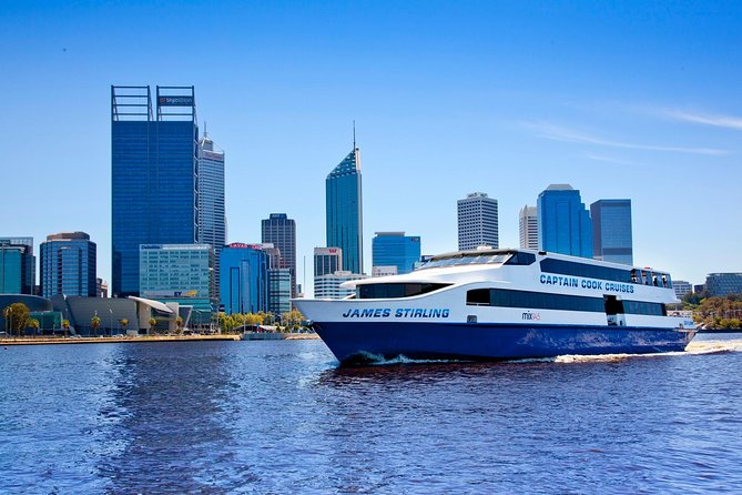 PLEASE NOTE: DUE TO THE IMPACT OF COVID-19, THIS CRUISE IS TEMPORARILY UNAVAILABLE UNTIL 31ST AUGUST 2020.<br><br>There is no better way to combine a delicious lunch and a wonderful cruise on the magnificent Swan River than on our Fremantle Lunch Cruise. Available daily from both Perth and Fremantle, this unique cruise includes a buffet of Western Australia's abundant seasonal fresh produce as well as full bar facilities on board.<br><br>Upon boarding the vessel you are shown to your reserved table. Enjoy Captain's commentary during the cruise downstream to the port city of Fremantle. Upon the return journey, you are invited to enjoy the hot buffet complemented by seasonal salads, all followed by a scrumptious dessert buffet. With a fully stocked bar on board why not enhance your light lunch with an ice cold beer, chilled chardonnay or smooth shiraz.