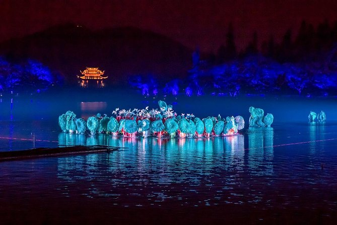 "Enjoy a fun and memorable night out by watching the famous water show in Hangzhou - Impression West Lake also called"" Enduring Memories of Hangzhou"". Sit in the VIP seating area and immerse yourself in the spectacular show combined with dance, singing, orchestral music, opera on the water stage with the beautiful and charming west lake as the back drop. Convenient and comfortable door to door private transfers is included."
