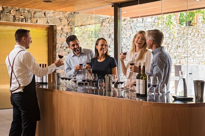 Enjoy an exclusive Past, Present & Future wine tasting, where we delve into back, current and yet to be released vintages of our St Hugo wines. <br><br>Tour the vineyard and walk through the unique cork trees lining the St Hugo entrance. <br><br>This tutored tasting of six wines showcases St Hugo's power and elegance, which has occurred over years of carefully crafted wine making.