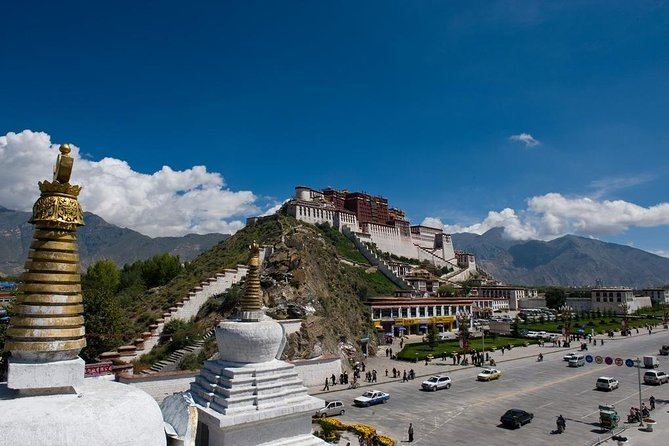 Visit some of Tibet's most important monuments during a 3-night tour of Lhasa with a private guide. View highlights including UNESCO World Heritage–listed Potala Palace, Jokhang Temple, Drepung Monastery and Sera Monastery; experience traditional Tibet while strolling around Barkhor Street; see the winter palace for many Dalai Lamas; admire one of Tibet's most venerated Buddha statues; and hear from a local guide about Lhasa's history and culture throughout your tour. Accommodation, all entrance fees, transportation, airport or train station pickup and drop-off, and travel permits are all included.