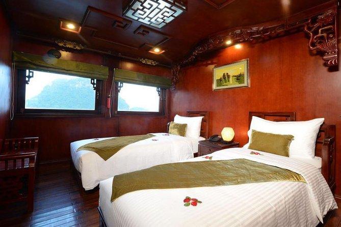 Halong and Cat Ba 3 days tour on Royal Palace Cruise, Halong Bay, VIETNAM