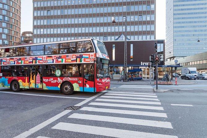 Autobuses rojos Billete para autobús rojo de Copenhague con paradas libres, Copenhague, DINAMARCA