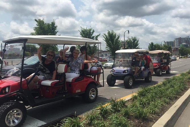 Downtown Nashville Shopping Tour by Golf Cart, Nashville, TE, ESTADOS UNIDOS