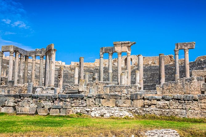 Dougga is a UNISCO Site and considered as one of the Best Archeolgical Roman Site in North Africa . If you are a fan of History and Archeology then this Site should in your Top 10 Bucket list. <br>