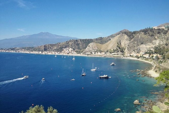 THE MOST ENJOAYBLE TOUR OUT OF MESSINA: VISIT TAORMINA, PANORAMIC PICTURES OF THE MARINE RESERVE OF ISOLABELLA, VISIT THE MEDIEVAL VILLAGE OF CASTELMOLA - LUNCH IN A PANORAMIC RESTAURANT (FACED ON THE VOLCANO ETNA AND THE BAY OF NAXOS) IS INCLUDED - NO HIDDEN COST