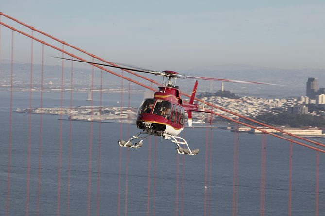 Wine Country by Helicopter with Wine Tasting and Food Pairing, San Francisco, CA, ESTADOS UNIDOS