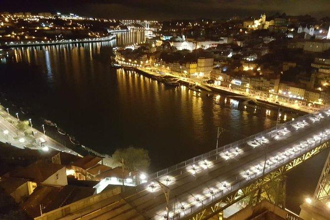 Fado dinner with panoramic night view of Porto, Oporto, PORTUGAL