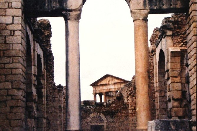 Dougga : The most intact site of North Africa, Tunez, TUNEZ