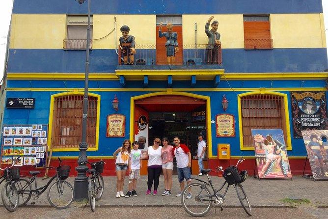 Tour en Bicicleta por el circuito histórico Zona sur, Buenos Aires, ARGENTINA