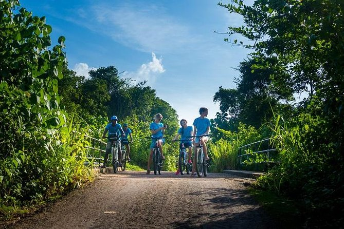 Village and Lagoon Cycling tour in Galle, Galle, SRI LANKA
