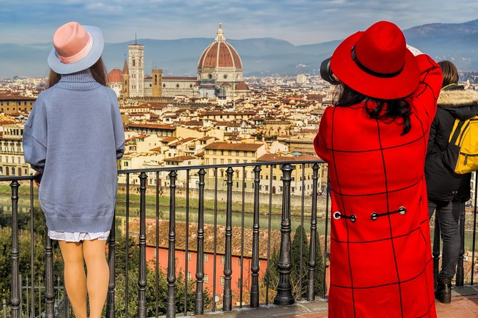 Join this small-group shore excursion from Livorno to Pisa and Florence. Accompanied by an English-speaking guide, drive along the countryside to discover these Tuscan towns. See the Leaning Tower, Duomo, and more over the course of 9-hours.