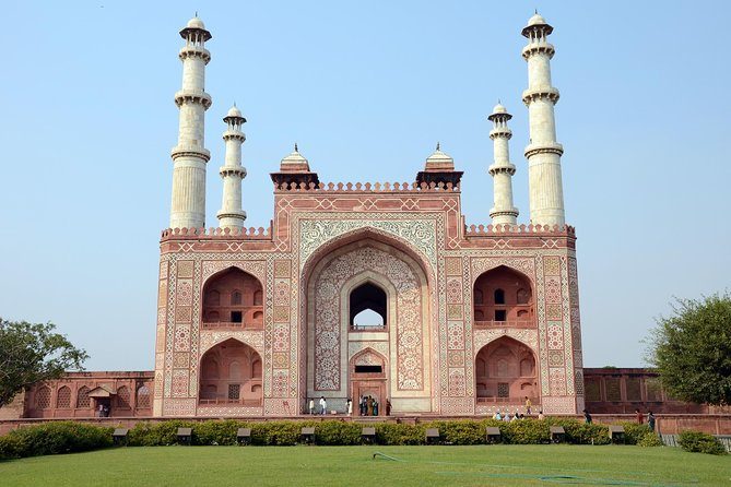 Tajmahal Sunrise and Sunset Tour With Tickets & Lunch From New Delhi by car, Nueva Delhi, Índia