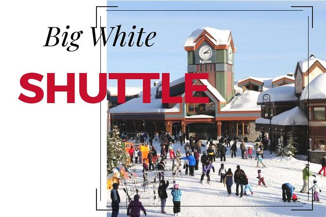 Big White Ski Shuttle From Kelowna, Kelowna y Okanagan Valley, CANADÁ