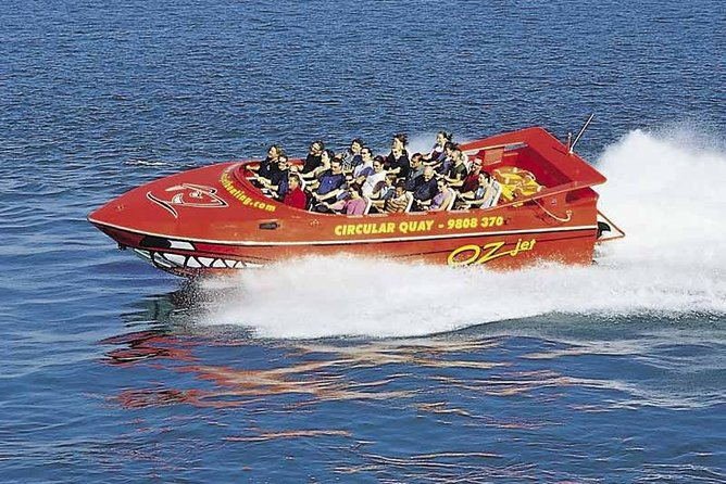 Feel the need for speed on this full-throttle jet boat shore excursion from Circular Quay! Blast off on Australia's most popular jet boating adventure. See many of Sydney's famous sites including the Sydney Opera House, Fort Denison, Rose Bay, Goat Island, Taronga Zoo, Sydney Harbour Bridge and much more!