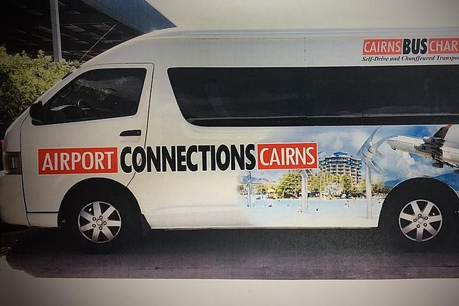Finish your holiday or business trip with a worry-free pickup from your Hotel in Palm Coveto Cairns Airport (CNS) in a shared shuttle. <br><br>Your driver will pick you up from your hotel and drop you off at the domestic or international terminal.