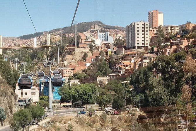 La Paz City - Cable Car, La Paz, BOLIVIA