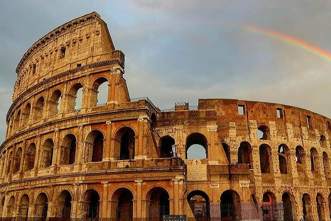 Visit the must-see symbol of Rome: the Colosseum! <br>Discover the 2000-years-long history of fights to the death, exotic animals' hunts, amazing shows and bloody executions of the greatest monument of Rome.<br>Don't waste your vacation time in long lines thanks to our Skip-the-line access! <br>Thanks to graphic reconstructions and 3D models, our guide will show you the spectacular atmosphere of the largest amphitheater in all the Roman Empire! <br>After learning the secrets of the gladiators, you'll discover more about everyday life in Ancient Rome by taking a walk in the Roman Forum, the very heart of the old city. Follow the steps of Roman Emperors, Senators, Vestal Virgins and common citizens to see shreds of ancient ruins coming back to life as great temples and amazing arches of triumph, thanks to modern reconstructions and the wise words of our passionate guide! <br>Top it off with the wonderful view over Rome from the panoramic terrace of the Palatine Hill, where the city was born and Roman Emperors used to live in marvelous palaces.<br>You'll leave with plenty of amazing pictures and a mind full of knowledge about Ancient Rome!