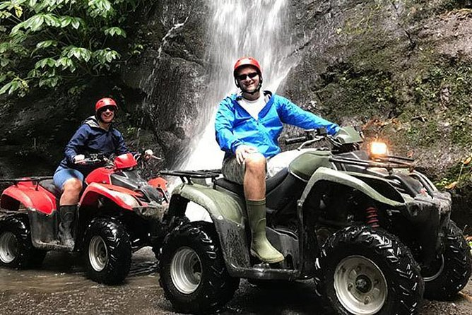 Bali Quad Bike Pass by Waterfall and Tunnel All-Inclusive, Seminyak, INDONESIA