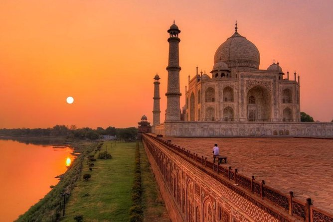 Get personalized attention and enjoy a flexible itinerary on this 3-day tour to Jaipur, Agra, and Delhi, known as the Golden Triangle. Let a dedicated guide show you the highlights and landmarks of each city, including the Taj Mahal and Agra Fort in Agra, the Amber Fort, Maharajah's City Palace, Observatory (Jantar Mantar), Jal Mahal (Water Palace) and Hawa Mahal (Palace of Winds) in Jaipur, the Qutub Minar, Humayun's Tomb, Bahai Temple (Lotus Temple), President's House and the Parliament House in Delhi. Two nights accommodations at a 5-star or 4-star hotel with breakfast or even you can choose the package without accommodation depend on which option you choose, private local guides, private transportation, entrance fees, bottled water included.