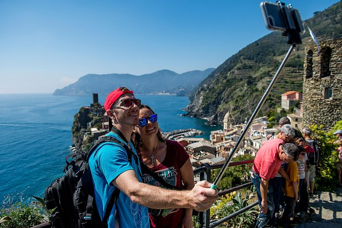 If you love an outdoor adventure, our Cinque Terre tour is sure to add a little something special to your Italian holiday. Join us and explore some of the country's most beautiful coastal towns and admire the stunning landscapes on a guided tour you're sure to remember for life.<br><br>- A magical trip along Cinque Terre's rugged coast<br>- Exploration of local villages boasting beautiful scenery and architecture<br>- Free time in the villages for wine tasting and souvenir shopping<br>- A scenic boat ride along the Riviera (weather permitting)