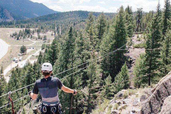 Buena Vista Granite Mountaintop Zipline, Buena Vista, CO, ESTADOS UNIDOS