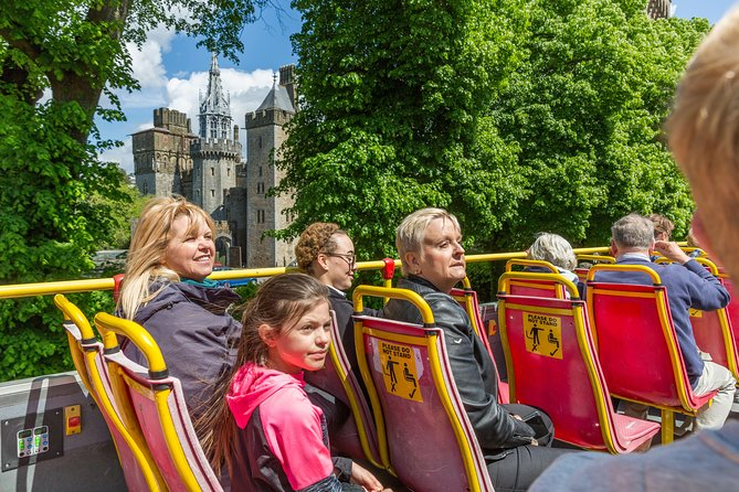 The best way to see Cardiff! Join us for a 50-minute City Sightseeing hop-on hop-off bus tour, including Cardiff Castle, Techniquest and Millennium Stadium. This is a hop-on hop-off service, which allows you to use this tour as a convenient way to access all major highlights in Cardiff.