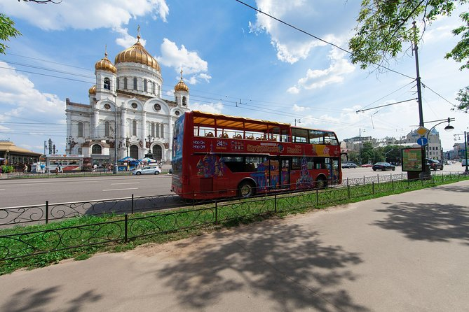 Excursión en autobús con paradas libres de City Sightseeing por la ciudad de Moscú, Moscu, RUSIA