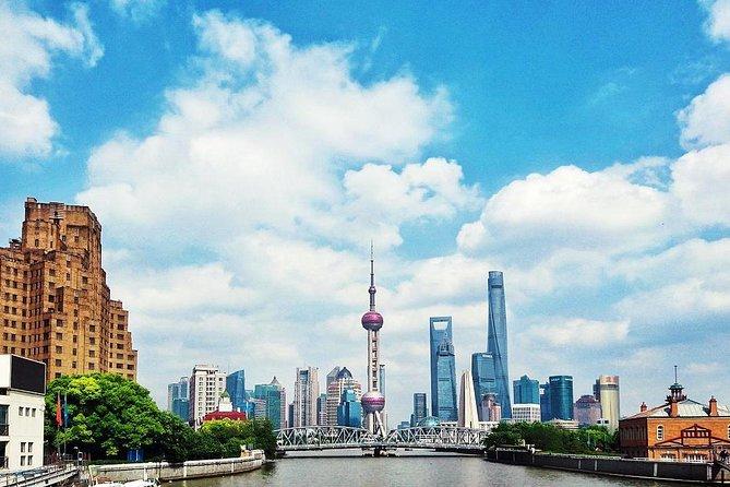 Recorrido en autobús con billete premium y paradas libres por Shanghái incluyendo entradas a las principales atracciones de la ciudad, Shanghai, CHINA