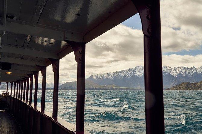 Crucero de vapor TSS Earnslaw desde Queenstown, Queenstown, NUEVA ZELANDIA