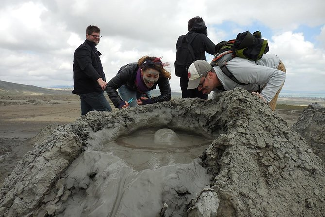 • Must-see places of Baku in just3 hours,<br> • Recommended for those with limited time in Baku,<br> • Explore little conical mounds - the Mud Volcanoes,<br> • Meet the history of times up to 40.000 years in Gobustan National Park,<br> • Enjoy complimentary round-trip transportation from your Baku hotel.
