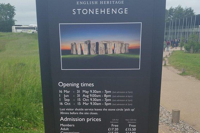 Shore Excursion:Southampton Cruise Terminal/Hotel to London via Stonehenge, Southampton, INGLATERRA