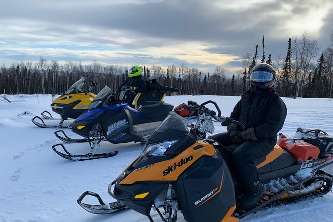 1-Hour Snowmachine Tour, Fairbanks, AK, ESTADOS UNIDOS