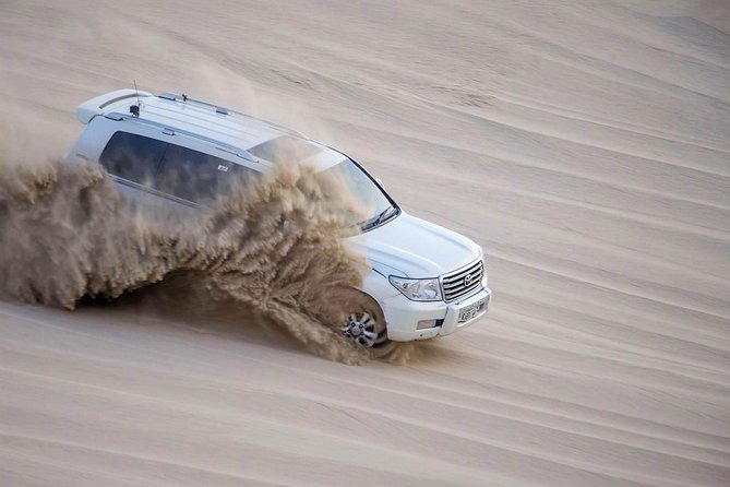 Enjoy the Most popular desert safari tour in Qatar, We are organizing private tour to provide quality service to our costumer. this tour will cover the most fun activities while you visiting the desert, camel ride sand board dune bashing and inland sea visit..