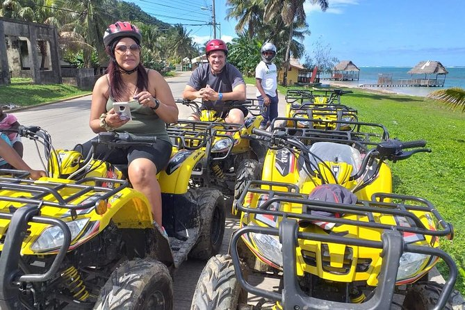 ATV, Zipline, Sloth Park and Beach, Roatan, HONDURAS