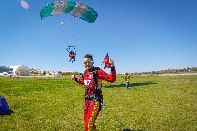 Paracaidismo en tándem a 5000m (15000pies), Portimao, PORTUGAL