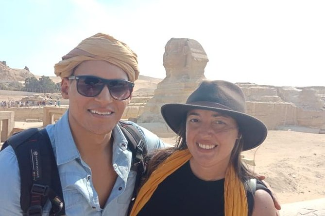 Egypt Short Break Day Tour: Pyramids, Sphinx and Egyptian Museum From Cairo Airport, Cairo, Egypt