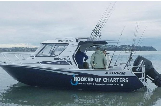 The Captain is a unique kiwi with a friendly and helpful disposition.<br><br> Over the years I have been referred to as Captain Lozza and it's stuck. I have been fishing these waters for the past 20 years in a variety of vessels and I am very familiar with the Hauraki Gulf which makes the sightseeing option one that won't leave clients disappointed. I have been lucky to have learnt from the best, he has vast experience as a commercial and recreational fisher in the Hauraki and especially the Coromandel region. As is the case with most traditional hunting disciplines, the Master passes on his skills and knowledge to the apprentice. I was the apprentice for many years, also learning from other great anglers and after completing my SRL Skippers ticket last year I have graduated to Master. I know a lot about fishing and guarantee to show you a good time and will do my best to assist you in landing the big one! <br><br>Let me customise your experience to ignite your fishing or sightseeing pleasure!