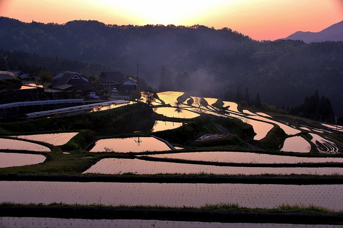 """The 150 years-old Kawashima is located at Takashima in Shiga prefecture, which is about one hour from Kyoto. The owner, Mr Kawashima, hosts the brewery tour, in which you will have a chance to taste the local sake, """"Matsuno Hana"""" and experience Takashima's traditional culture and nature. <br><br>Takashima is well-known for its unique water culture called """"Kabata"""" which is an ancient method to use the natural spring water for daily life. This tour is exclusively designed for our guests.<br><br>In the Kawashima brewery, you will enjoy Japanese traditional cultures in their special room, the inner room or the room apart from the main building, which is only opened for exclusive guests. <br><br>Notice<br>We use public transportation. Enjoy breathtaking landscapes from the bus and train window and relish the tranquil countryside on foot.<br>However, please note that it is subject to availability and change. A taxi may be an alternative for transfer. The fare is approximately 4,000-5,000 yen for one way."""