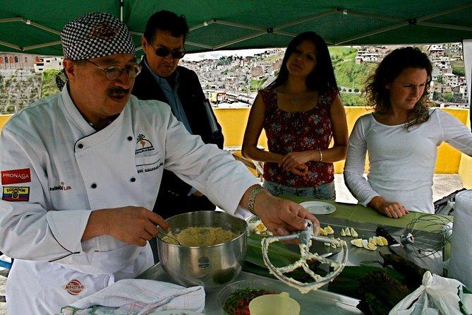 Excursión culinaria y clase de cocina en Quito, Quito, ECUADOR